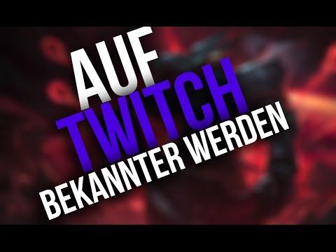 Mehr VIEWER auf Twitch bekommen, aber wie?| League of Legends Deutsch