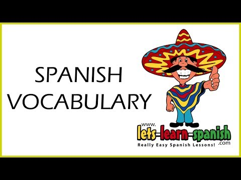 spanish - Watch Lesson 1 For Free Here - http://www.lets-learn-spanish.com/free/spanish-vocabulary-genius/ Learn Spanish - Spanish Vocabulary Genius will show you how ...