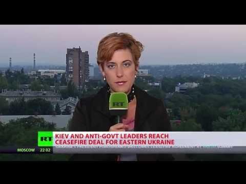 Kiev%2C East Ukraine militia agree on ceasefire