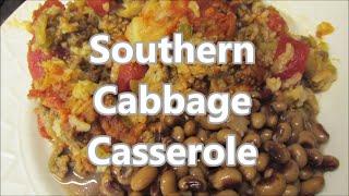 How to cook an easy Cajun Cabbage Casserole by Louisiana Cajun Recipes