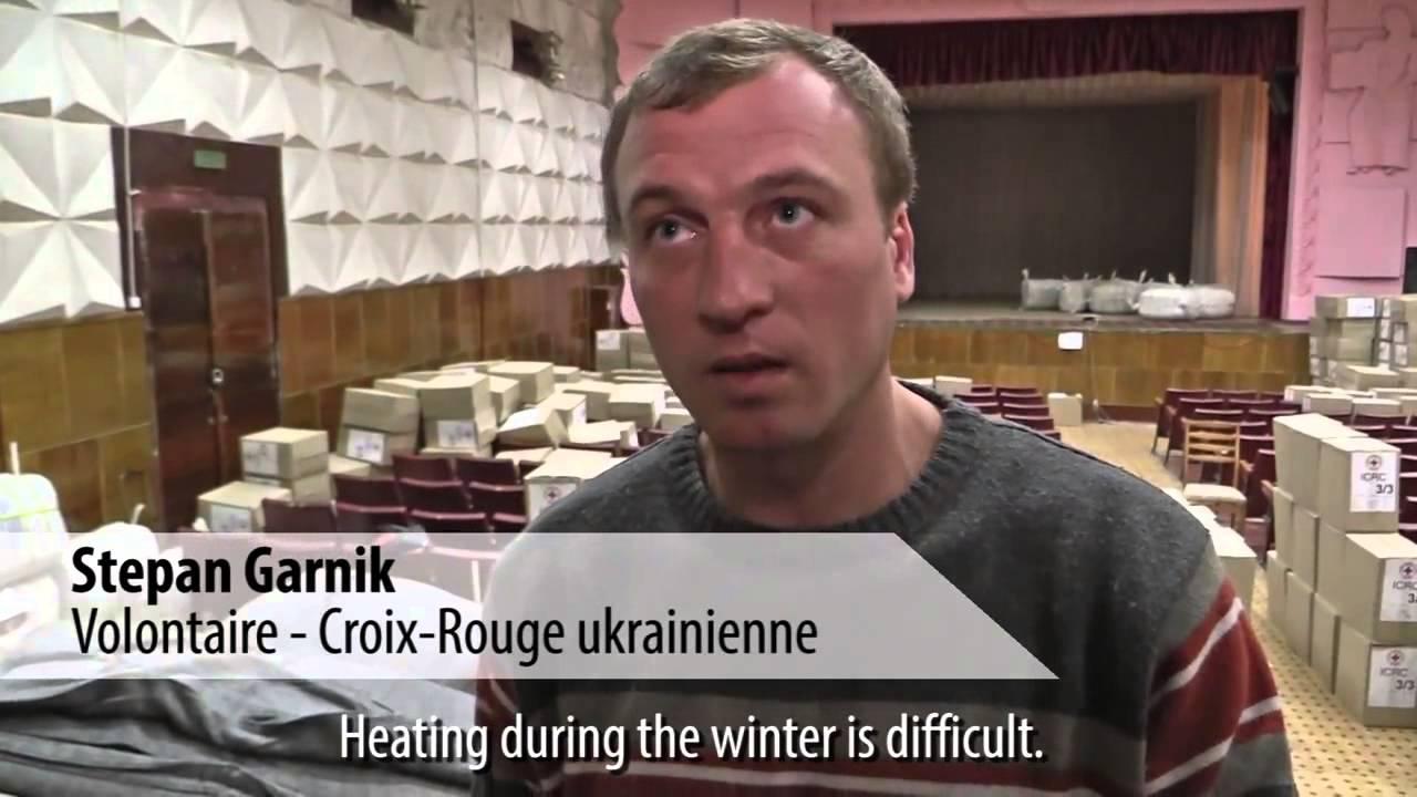 Вынужденные переселенцы из Горловки и Донецка нашли приют в Красном Лимане