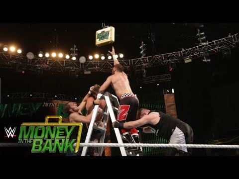 Money in the Bank Contract Ladder Match- WWE Money in the Bank Full Match (видео)