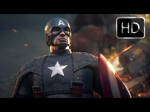 Captain America: Super Soldier - All Cutscenes/ Full Movie (Full 1080p HD)
