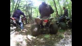 9. honda TRX 250x ride