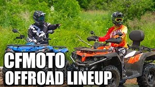 9. CFMOTO Offroad Lineup