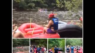 Whitewater rafting 8/30/2014 - YouTube
