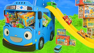 Video Tayo Bus Toys: Excavator, Fire Truck, Police Cars & Construction Toy Vehicles Surprise for Kids MP3, 3GP, MP4, WEBM, AVI, FLV Agustus 2019