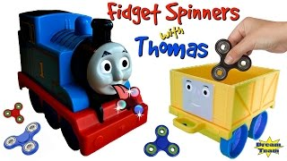 TRAINS FOR CHILDREN VIDEO Crazy Thomas and Friends Fidget Spinner Tricks With Thomas the Train