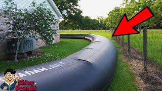 Video Awalnya Ditertawakan Tetangga Saat Memasang Pagar Air Ini, Tapi Ternyata? MP3, 3GP, MP4, WEBM, AVI, FLV Agustus 2018