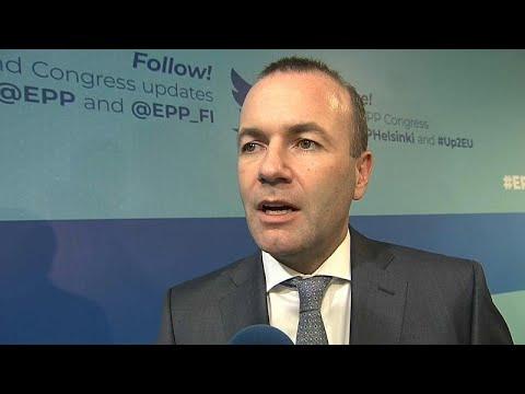 Ο Μάνφρεντ Βέμπερ στο Euronews