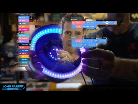 MakeCode Minute: NeoPixel Strips