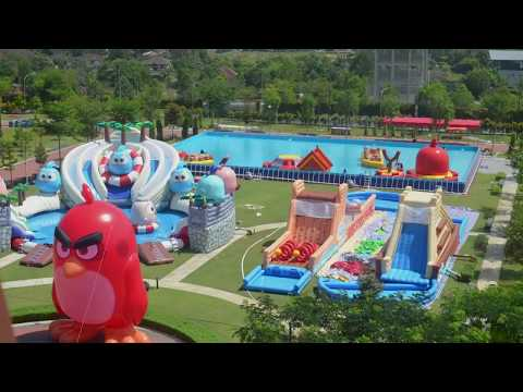 [OUP] Angry Birds Splash Water World Transformation @ Setia Ecohill Welcome Centre