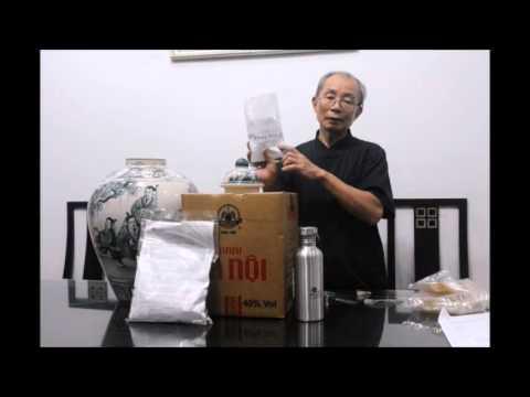 BS Nguyễn Đức Kiệt nói về sức khỏe nam giới và hướng dẫn cách ngâm rượu Thiên Quý Thang