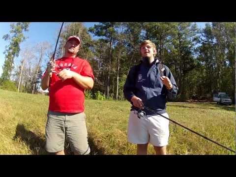 Pond Fishing the Bank