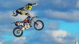 Big Air Motocross Freestyle Jumps - MotoX Extreme Stunts FMX Freestyle Motocross Backflip Tricks
