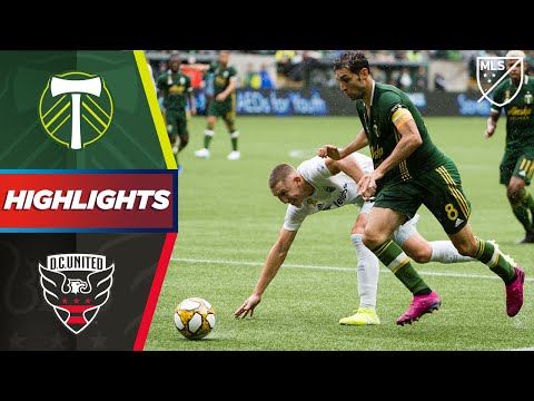Video: Portland Timbers 0-1 D.C. United | Crazy goal line clearance decides the game! | HIGHLIGHTS