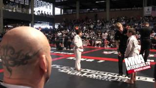 UFC's Wanderlei Silva Coaches His Son Thor Through His 1st Jiu-jitsu Tournament Win At NAGA