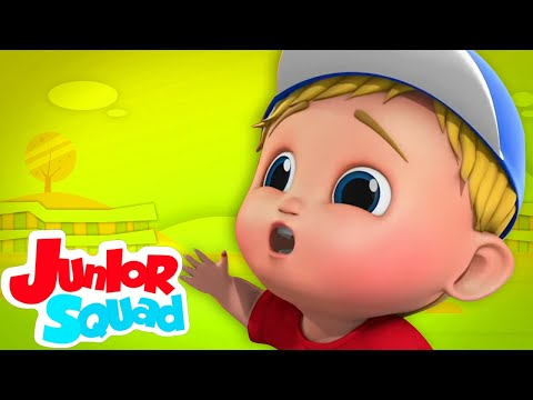 Canção boo boo   Musica infantil portuguesa   Educação   Junior Squad   Desenhos animado