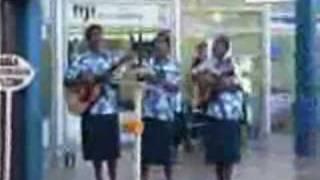 Musicians At Fiji Airport In Nadi
