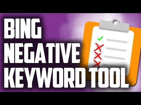 How To Identify Your Negative Keywords