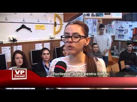 """""""Tocilescu"""" lupta pentru trofeu"""