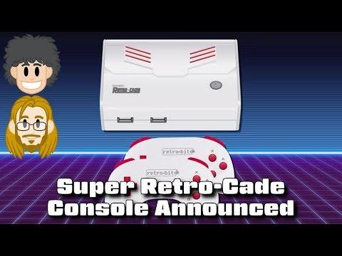 Super Retro-Cade Console Announced - #CUPodcast