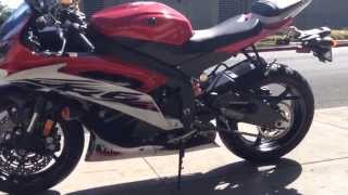 9. 2014 Yamaha YZF R6 Red