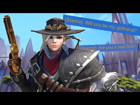 Impersonating A Girl In Overwatch!
