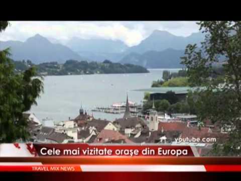 Cele mai vizitate orase din Europa