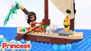 Video ♥ LEGO Moana STRANDED Adventures Kids Stop Motion Animation Movie (Episode 1) MP3, 3GP, MP4, WEBM, AVI, FLV Juli 2018