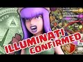 Clash of Clans | ILLUMINATI CONFIRMED | 666 Gems and MILLIONS of LOOT in MINUTES? WTF!