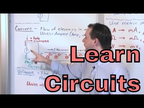 Lesson 1 - Voltage, Current, Resistance (Engineering Circuit Analysis)
