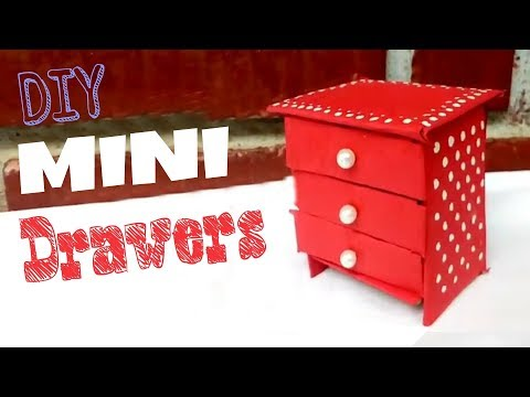 Video DIY MINI DRAWERS | USING MATCHBOX AND CARDBOARD download in MP3, 3GP, MP4, WEBM, AVI, FLV January 2017