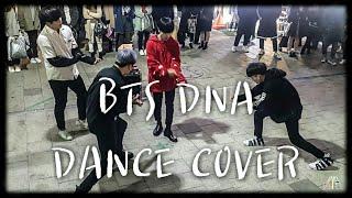 Download Lagu [4TEN]BTS☆DNA☆COVER 홍대버스킹 20171117금 [HONGDAE KPOP STREET DANCE] Mp3