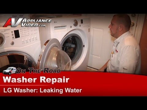 LG Washer Repair – Leaking Water – WM2101HW