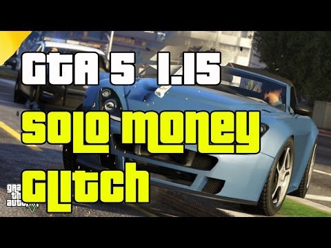 GTA 5 Online SOLO Money Glitch After Patch 1.15  \