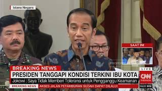 Video Presiden Jokowi Tanggapi Kondisi Terkini Ibu Kota MP3, 3GP, MP4, WEBM, AVI, FLV Mei 2019