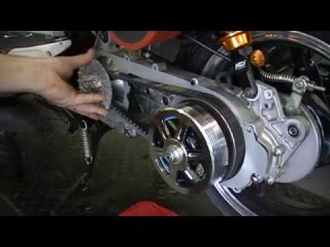 MonsterGY6.com Scooter Transmission upgrade