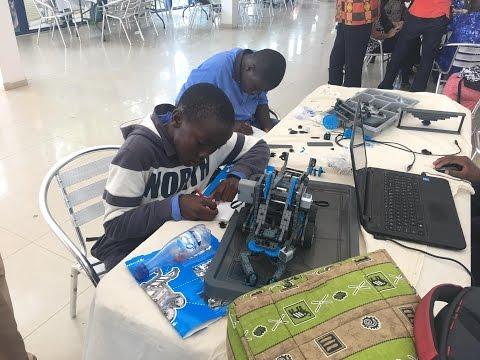 PARC 2017 : Premiers tests des robots par les participants