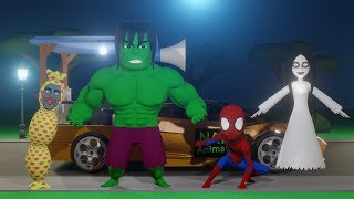 Video Kompilasi Kartun Horor Lucu Kuntilanak, Pocong, Spiderman, Hulk #04 MP3, 3GP, MP4, WEBM, AVI, FLV Mei 2019