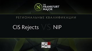 CIS Rejects vs NIP, game 1