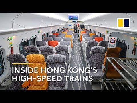 Inside Hong Kong's high-speed trains