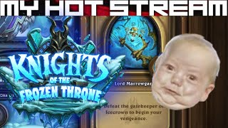 Live streams, first impressions and let's plays daily/weekly.  Hearthstone - Knights of the Frozen Throne - The Lower Citadel (Lord Marrowgar).████████████████████████████████████████████Defeat the gatekeeper to Icecrown to begin your vengeance.████████████████████████████████████████████Like CCGs?  Check out my other playlists at the end of the video.  Know a good CCG?  Post a comment and tell me about it, willing to play new CCGs on channel whenever I come across them!████████████████████████████████████████████SOCIALSTwitch: https://www.twitch.tv/myhotstreamFacebook: https://www.facebook.com/carlos.diadebueyesTwitter: https://twitter.com/CarlosDiaDeBueyPatreon: https://www.patreon.com/MyHotStream████████████████████████████████████████████