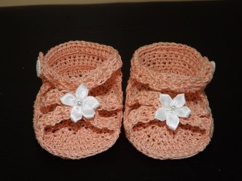 Crochet Baby Sandals or Slipers