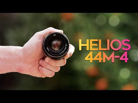 Best Vintage Lens For $50! - Helios 44m-4 58mm F/2 Cinematic Lens!