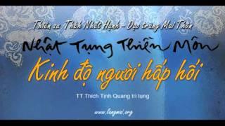 Kinh Độ Người Hấp Hối - Nhật Tụng Thiền Môn