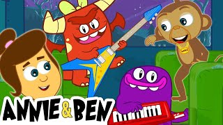 Video Wheels on the Bus with SPOOKY MONSTERS | Funny Halloween Rhymes for Kids | Annie and Ben MP3, 3GP, MP4, WEBM, AVI, FLV Juni 2019