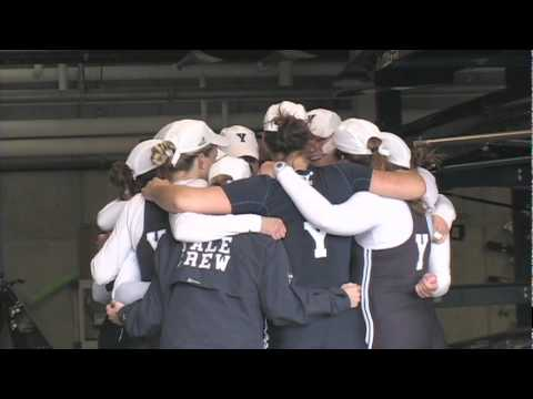 Video Highlights Apr. 11, 2010: Yale Women's Crew vs. BU and Dartmouth