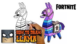 How to Draw Llama | Fortnite | Awesome Step-by-Step Tutorial
