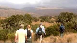 Walk in Simien Mountains of Ethiopia